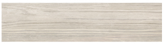 "Interceramic - 11-1/2""x47"" Amazonia Paraiba White Porcelain Tile (Rectified Edges)"
