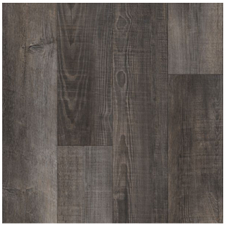 Armstrong - Rigid Core Vantage Woodward Winds Gusty Gray Luxury Vinyl Tile A6921