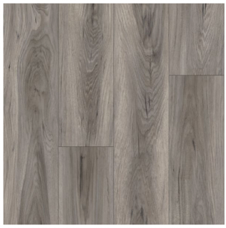 Armstrong - Rigid Core Vantage Hickory Bridge Tenacious Taupe Luxury Vinyl Tile A6932