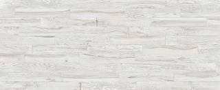 "Milestone/Florim - 6""x36"" Lacquered Wood White Porcelain Tile 1101634"