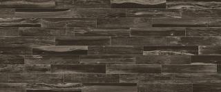 """Milestone/Florim - 6""""x36"""" Lacquered Wood Black Porcelain Tile 1101633"""