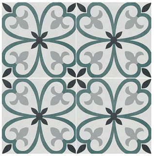 """Marazzi - 8""""x8"""" D_Segni Color Clover Porcelain Tile M1L4"""