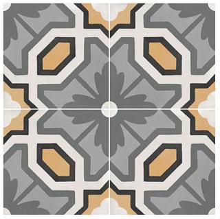 """Marazzi - 8""""x8"""" D_Segni Color Honeycomb Porcelain Tile M1L5"""