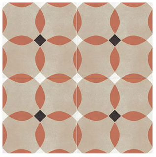 """Marazzi - 8""""x8"""" D_Segni Color Monarch Porcelain Tile M1L7"""