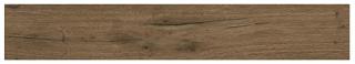 """Interceramic - 7-1/2""""x47"""" Black Forest Kandel Brown Porcelain Tile (Rectified Edges)"""