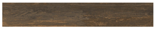 "Interceramic - 7-1/2""x47"" Black Forest Otten Bronze Porcelain Tile (Rectified Edges)"