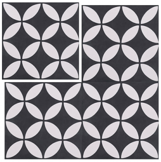 "Interceramic - 8""x8"" Union Square Beck Tile"