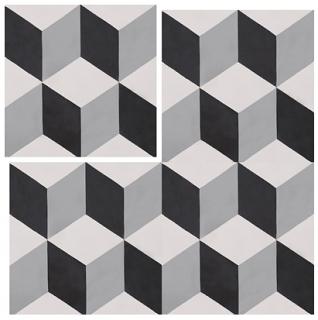 "Interceramic - 8""x8"" Union Square Haskell Tile"