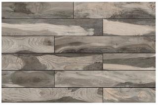 "Mediterranea - 6""x36"" Backwoods Kentucky Bourbon Porcelain Tile (Rectified Edges)"