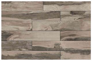 "Mediterranea - 6""x36"" Backwoods Leather Saddle Porcelain Tile (Rectified Edges)"