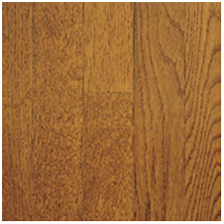 """Somerset - 2-1/4"""" wide x 3/4"""" thick Color Collection Gunstock White Oak Solid Strip Hardwood Flooring PS2104"""