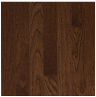 """Somerset - 2-1/4"""" wide x 3/4"""" thick Color Collection Metro Brown White Oak Solid Strip Hardwood Flooring PS2116"""
