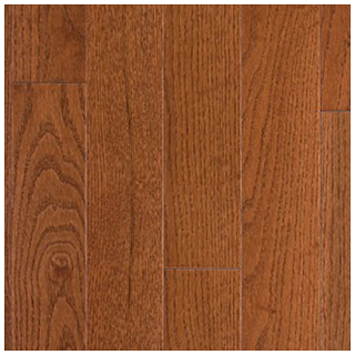 """Somerset - 3-1/4"""" wide x 3/4"""" thick Color Collection Mocha Red Oak Solid Strip Hardwood Flooring PS31406"""
