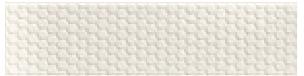 "Imola - 3""x12"" Bubble White Bubble Glossy Ceramic Wall Tile BBBL73W"