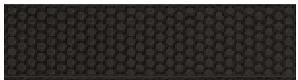 "Imola - 3""x12"" Bubble Nero Bubble Glossy Ceramic Wall Tile BBBL73N"
