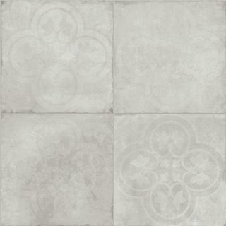 """Sartoria - 8""""x8"""" TSquare Blanc Epoque Matte Porcelain Tile TTTS0120EN"""
