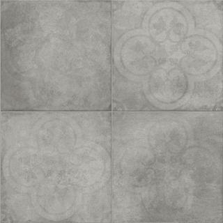 "Sartoria - 8""x8"" TSquare Smoke Epoque Matte Porcelain Tile TTTS0220EN"