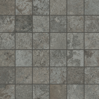 "Unicom Starker - 2""x2"" Debris Soot Mosaic Tile"