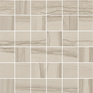 """Happy Floors - 2""""x2"""" Silver Taupe Mosaic Tile (12""""x12"""" Sheet)"""