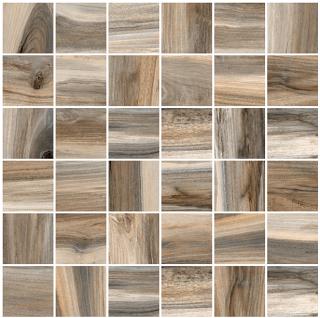 "Happy Floors - 2""x2"" Tasmania Drift Natural Mosaic Tile (12""x12"" Sheet)"