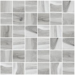 "Happy Floors - 2""x2"" Tasmania Hail Polished Mosaic Tile (12""x12"" Sheet)"