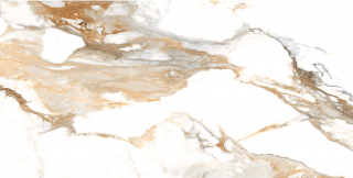 "Happy Floors - 24""x48"" Crash Beige Polished Porcelain Tile (Rectified Edges)"