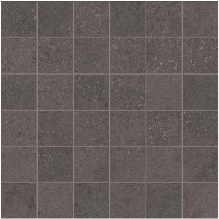 "Happy Floors - 2""x2"" Phase Dark Mosaic Tile (12""x12"" Sheet)"