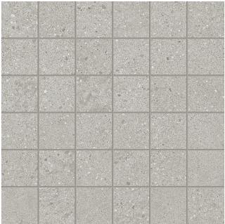 "Happy Floors - 2""x2"" Phase Grey Mosaic Tile (12""x12"" Sheet)"