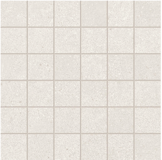 """Happy Floors - 2""""x2"""" Phase White Mosaic Tile (12""""x12"""" Sheet)"""