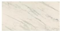 "American Olean - 12""x24"" Ideology Carrara White Matte Porcelain Tile"