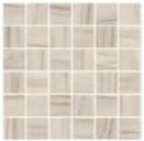 "American Olean - 2""x2"" Ideology Calacatta Grey Matte Mosaic Tile (11-3/4""x11-3/4"" Sheet)"