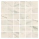 "American Olean - 2""x2"" Ideology Carrara White Matte Mosaic Tile (11-3/4""x11-3/4"" Sheet)"