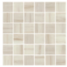 "American Olean - 2""x2"" Ideology Lasa Beige Matte Mosaic Tile (11-3/4""x11-3/4"" Sheet)"
