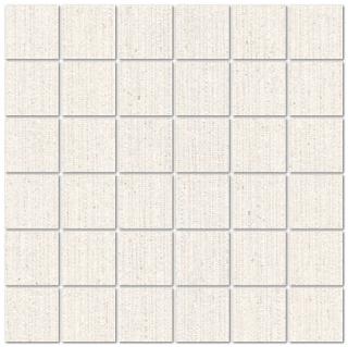 """Mediterranea - 2""""x2"""" Symmetry Morning Mist Mosaic Tile"""
