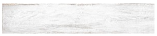 "Interceramic - 7-1/2""x39"" Timberwood Weathered White Porcelain Tile (Rectified Edges)"
