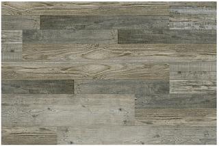"Chesapeake Flooring - 7""x48"" Farmstead Decatur Rigid Waterproof Vinyl SPC Flooring (Reclaimed Oak)"