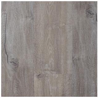 "AxisCor - 7""x48"" Axis Prime Weathered Gray SPC Waterproof Vinyl Plank Flooring"