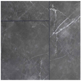 "AxisCor - 12""x24"" Axis Pro 12 Riona Marble SPC Waterproof Vinyl Plank Flooring"