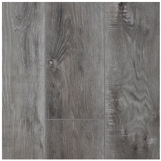 "AxisCor - 7""x60"" Axis Trio Frosted SPC Waterproof Vinyl Plank Flooring"