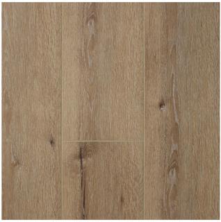 "AxisCor - 7""x60"" Axis Trio Latte SPC Waterproof Vinyl Plank Flooring"