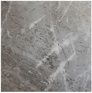 "Interceramic - 12""x12"" Astoria Gray Polished Marble Tile"