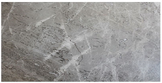 "Interceramic - 12""x24"" Astoria Gray Polished Marble Tile"