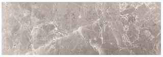 "Interceramic - 4""x12"" Astoria Gray Polished Marble Tile"