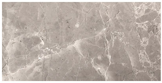 "Interceramic - 4""x8"" Astoria Gray Polished Marble Tile"