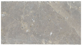 "Interceramic - 3""x6"" Astoria Gray Tumbled Marble Tile"