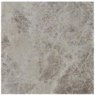 "Interceramic - 6""x6"" Astoria Gray Tumbled Marble Tile"