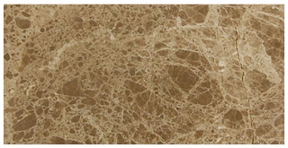 "Interceramic - 4""x8"" Emperador Light Polished Marble Tile"