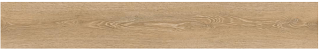 "Happy Floors - 7""x48"" Chateau Honey Easy Luxury Rigid Core Vinyl Plank Tile"