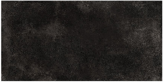 "Iris - 12""x24"" Brooklyn Cemento Black Honed Porcelain Tile (Rectified Edges)"
