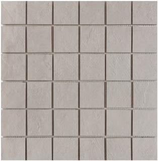 "Happy Floors - 2""x2"" Newton Pearl Natural Porcelain Mosaic Tile (12""x12"" Sheet)"